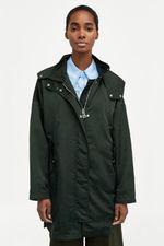 Куртка ZARA Темно зеленый zara 0518/062/500