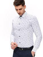 Рубашка TOP SECRET Белый в полоску skl2795