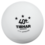 Мяч для настольного тенниса Tibhar 3*** 40+ SYNTT (938) ITTF aproved
