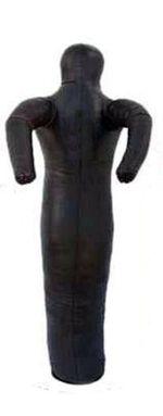 Манекен кожаный боевой 60 кг, 170 см, одна нога (3389)
