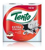 Полотенца бумажные TENTO Extra Strong 3 слоя 17м*2