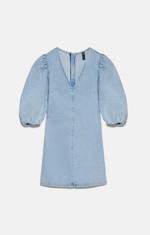 Платье ZARA Голубой 8527/001/406