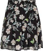 Юбка ORSAY Черный в цветочек 724173