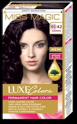Краска для волос,SOLVEX Miss Magic Luxe Colors, 108 мл., 103 (4.2) - Баклажан