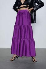Юбка ZARA Фиолетовый 7149/047/629