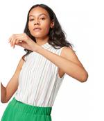 Блуза TOM TAILOR Белый в полоску 1012678 tom tailor