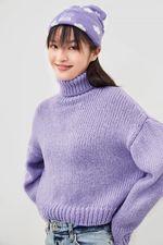 Трикотаж H&M Фиолетовый