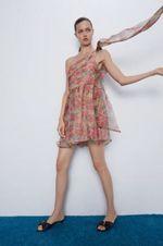 Платье ZARA Принт цветочек 7825/100/330