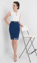 Платье ORSAY Синий/белый 490138 orsay