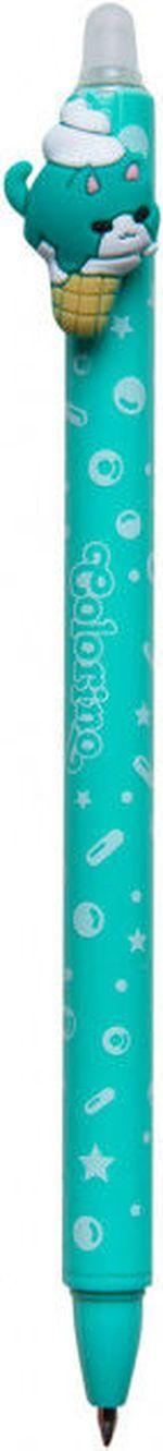 Автоматическая шариковая ручка Colorino пиши-стирай, синяя Сладкие котики 0.5 мм