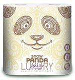 Туалетная бумага PANDA LUXURY 3 слоя 20.8м*4 Pure