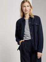 Блуза TOM TAILOR Темно синий в полоску 1023021 tom tailor