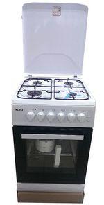 Газовая плита Klass T5404E4I-White