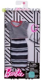 Дневной и вечерний наряд Barbie в комплекте, код FND47