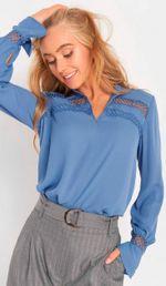 Блуза ORSAY Голубой 663483 orsay
