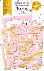 Набор рамок с фольгированием от Фабрики Декора