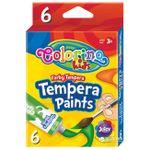 Темпера 6 цв.12 мл  Colorino