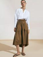 Блуза Massimo Dutti Белый 5113/680/250