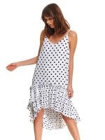 Платье TOP SECRET Белый в горошек