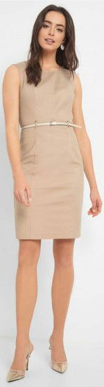 Платье ORSAY Бежевый 490327 orsay