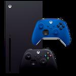 Microsoft Xbox Series X + Xbox Series Controller Blue