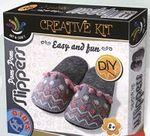 Set pentru creativitatea papuci POM-POM papuci de casă, cod 41295