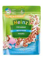 Каша Heinz Омега3 гречневая с молоком, с 4месяцев, 200г