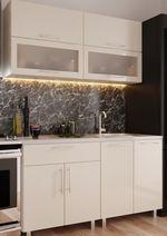 Кухонный гарнитур Bafimob Modern (High Gloss) Mini 1.2m Beige