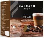 Капсулы для кофемашин Carraro Cortado Compatible Dolce Gusto 16caps
