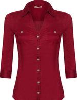 Блуза ORSAY Темно красный 603034