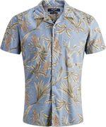Рубашка JACK&JONES Голубой с принтом 12151926