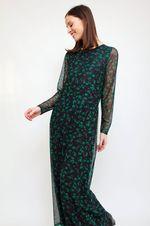 Платье CO'COUTURE Черный/зеленый 76325