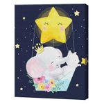 Полет сквозь звезды, 40х50 см, картина по номерам Артукул: GX36158