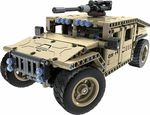 8014, XTech Bricks: 2in1, Armed Off-road Vehicle, R/C 4CH, 502 pcs
