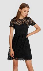 Платье Stradivarius Чёрный 6380/420/001