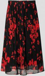 Юбка ORSAY Чёрный/ Красный