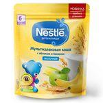 Каша мультизлак  яблоко-банан с молоком Nestle, с 6 месяцев, 220г