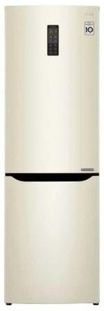 Холодильник с нижней морозильной камерой LG GA-B419SYUL, 302л, 190.7см, A+