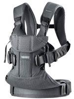 Анатомический рюкзак-кенгуру BabyBjorn One Air Anthracite 3D Mesh