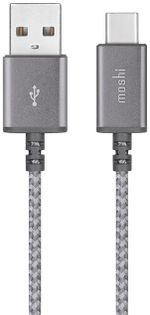 Кабель Moshi Integra iPhone Type C USB Cable Gray