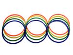 Кольца тренировочные (координационные) 12 шт. Alvic, пластик, PE (2503)