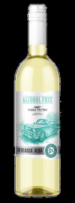 Вино безалкогольное Casa Petru Alcohol Free Feteasca Alba
