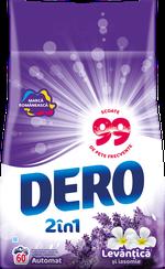 Стиральный порошок Dero Лаванда и Жасмин, 6 кг.