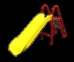 Горка с лестницей LLDPE-1000