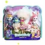 Набор из трех кукол со зверюшками Enchantimals, код FMG18