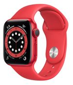 Apple Watch Series 6 GPS, 44mm Red Aluminum Case