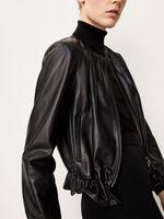 Куртка Massimo Dutti Чёрный massimo dutti 4764/748