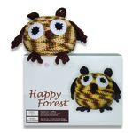 Set de creație Happy Forest, Bufniță multicolor