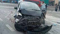 Microbuz plin cu pasageri, implicat într-un accident violent la Orhei