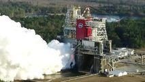 NASA: Testarea celei mai puternice rachete, încheiată cu un eșec parțial